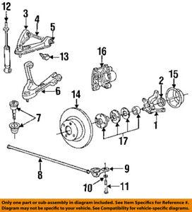 Dodge CHRYSLER OEM 1991 Dakota Front Brake-Disc Rotor 52006241