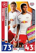 Willi Orban,Compper  2017-18 Topps Champions League Match Attax,Sammelkarte,#90