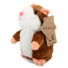 Zi Xi & Zi Qi Talking Hamster Plush Toy, Repeat What You Say Funny Kids Stuffed