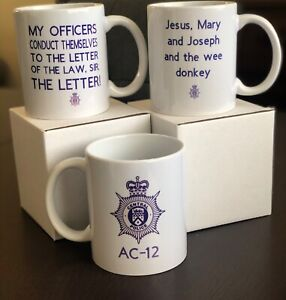 AC-12 Bent Coppers Novelty Mug FREE DELIVERY