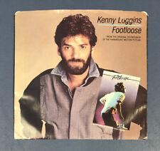 KENNY LOGGINS FOOTLOOSE SOUNDTRACK 45 VINYL RECORD SINGLE PICTURE SLEEVE TESTED