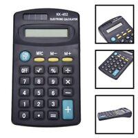 Rechner Elektronik Mini aus / von 8 Ziffer Akkus Gefüttert für der Büro xk