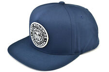 OBEY CLASSIC PATCH SNAPBACK CAP - FADED NAVY BLUE - 100% AUTHENTIC