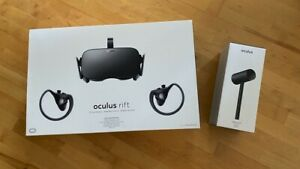 Oculus Rift VR Headset - Set mit 3 Tracking Stationen, 2 Touch Controller