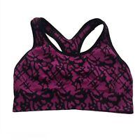 C9 By Champion Purple Black Sports Bra Size Small Womens