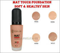 Flormar Mat Touch Foundation  Mat Look Soft & Healthy Skin 30 ml