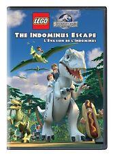 NEW DVD - LEGO Jurassic World: The Indominus Escape
