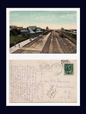 CANADA MANITOBA BRANDON CPR DEPOT POSTED 1910 TO MORRISTOWN, NEW YORK