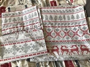 Christmas Double Duvet Cover Reversible and 2 Pillowcases