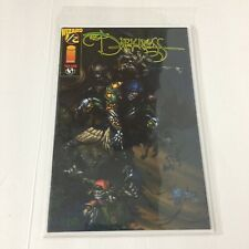 The Darkness #1/2 Dec. 1996 Top Cow Comics Wizard Exclusive Regular Cover COA