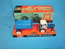 Rare Britains Farm Toys 9630 Ford 5000 Tractor & Shawnee Poole Trailer Set Nos