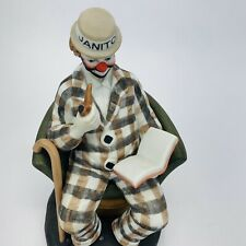 Paul Jerome Ventage Famous American Clown No. 1453 Of 9500 Hobo Make Up No Base