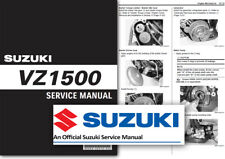 Suzuki VZ1500 Boulevard Intruder Workshop Service Manual M1500R M90R M90