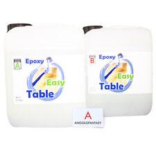 Epoxy Easy Table Prochima Resina epossidica trasparente 7,5 kg Tavolo in legno