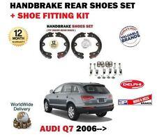 FOR AUDI Q7  2006-2015 NEW HANDBRAKE REAR BRAKE SHOES SET + SHOE FITTING KIT