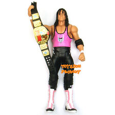 WWE WrestleMania 32 Bret Hart European Champion Belt Wrestling Action Figure Toy