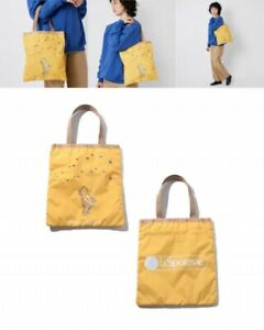 LeSportsac Japan Exclusive Disney Classic Pooh Collection Emerald Tote Bag Japan