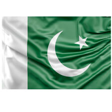 Hand Stitched Pakistani Flag of Pakistan 5ft x 3ft in Polyester