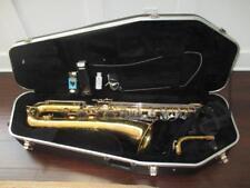 Selmer Bundy USA Baritone Bari Saxophone W/ Nice Rolling Case Sax Sounds Great