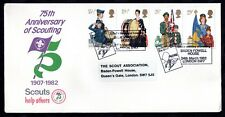1982 Scouts Scouting Official FDC & Baden Powell House PMK WS9586