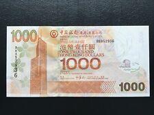 Hong Kong Bank of China BOC 2005 $1000 Banknote Uncirculated UNC S/N BB852936