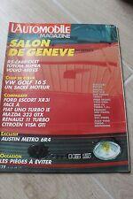 L'Automobile 478-86-Golf GTi 16S-Escort XR3i-R11 Turbo-Visa GTi-Uno Turbo-Volvo