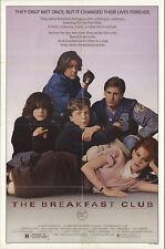 The Breakfast Club 1985 Original Movie Poster Comedy Drama