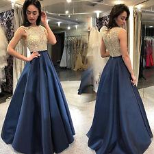 Abendkleider blau ebay