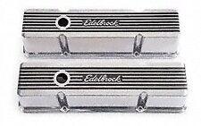 Edelbrock 4263 Elite II Valve Covers 1959-86 Small Block Chevy 262-400