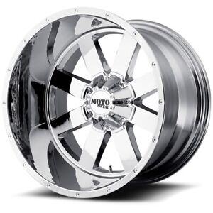 17 Inch Chrome Rim Wheels LIFTED Chevy Truck Silverado 1500 Tahoe Suburban 17x10