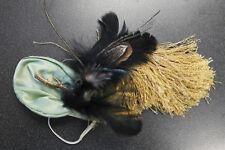 """Franklin Mint Doll Scarlett Ingenuity Green Velvet Hat Bonnet """"Chicken Bone"""""""