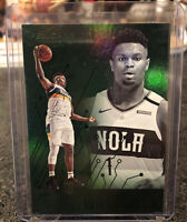 2019-20 Panini Chronicles Essentials GREEN ZION WILLIAMSON SP Rookie #210 RC