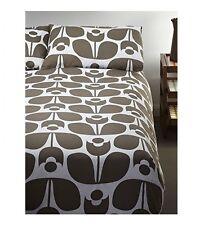 Orla Kiely Wallflower Mushroom Double Duvet with Two Pillowcases