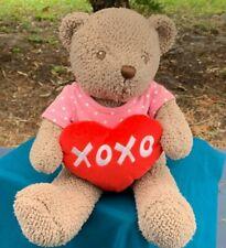 Hanny Girl Productions Teddy Bear w/XOXO Heart 13