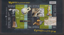 CYPRUS MNH STAMP SHEET 2007 CYPRUS THROUGH THE AGES 1ST SERIES SG 1137-1144
