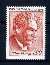 MONACO - 1975 - 100° della nascita di Albert Schweitzer (1875-1965), teologo