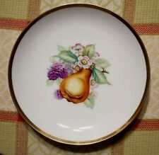 Gorgeous vintage SANGO fruit plate.Occupied JAPAN.Hand-painted in vivid colors.