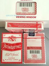 3 Deck Grand Casino Gulfport Playing Cards Aristocrats Poker Sealed Big Number