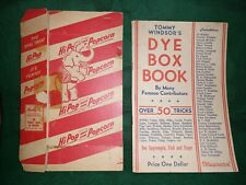 Tarbell Windsor Dye Dox Booklet Famous Contributors 50 Tricks Original Box Incl