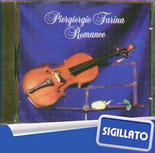 """PERGIORGIO FARINA """" ROMANCE """" CD SIGILLATO PRIMA  EDIZIONE 1993 FONIT CETRA"""