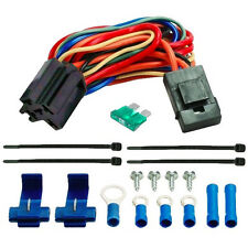 ELECTRIC FAN WIRE HARNESS KIT DUAL 12V RADIATOR FANS WIRING 5-PIN RELAY SOCKET