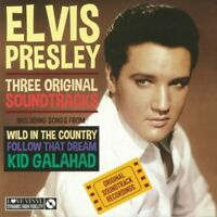 Elvis Presley - Three Original Soundtracks - Vinyl 180 gram album LP - Gift Idea