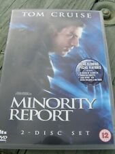 MINORITY REPORT DVD Tom Cruise 2 disc set