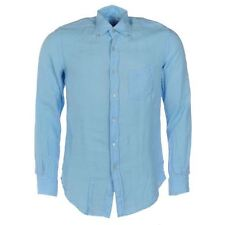 Linen Long Sleeve Regular Size Casual Shirts for Men