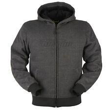 Furygan Brad X  Motorcycle Hoodie Jacket CE AAA Made with Kevlar Grey