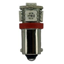L12V-WB-R 12 Volt T3 1/4 Wedge Base LED Bulb 0.85 Watt Red