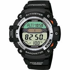 Casio orologio digitale al quarzo uomo con cinturino in resina sgw300h1aver