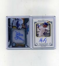 2013 Topps Museum and 2016 Strata Anthony Rizzo Autographs-2 card lot-Nice