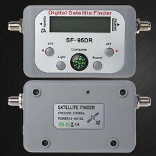 1Pc Digital Satellite Finder Meter TV Signal Finder Sat Decoder DVB-T2 LCD FTA