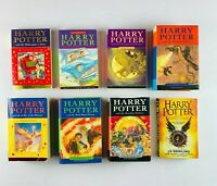Harry Potter Books Complete Original Set JK Rowling 3x First Edition 3x HC 5x PB